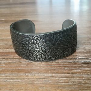 Jewelry - 100% Pewter Cuff Bracelet - by Salisbury